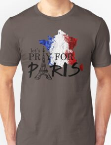 let's pray for paris T-Shirt