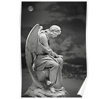 Moonlit Angel Poster