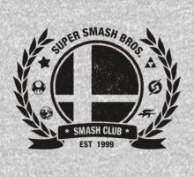Smash Club (Black) One Piece - Short Sleeve