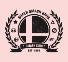 Smash Club (Black) Kids Clothes