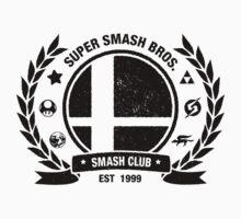 Smash Club (Black) Baby Tee