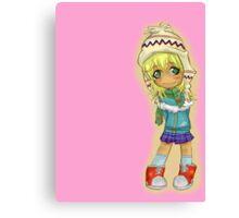 Cute Chibi Canvas Print