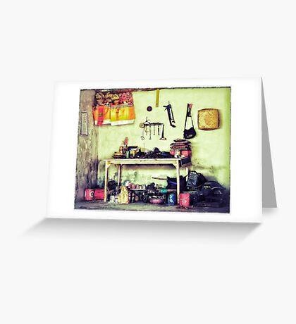 Workshop Greeting Card