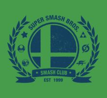 Smash Club (Blue) One Piece - Short Sleeve
