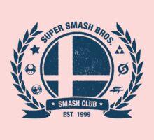 Smash Club (Blue) Kids Clothes