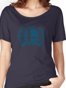 Smash Club (Blue) Women's Relaxed Fit T-Shirt