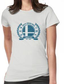 Smash Club (Blue) Womens Fitted T-Shirt