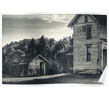 The Shed and Farmhouse Poster