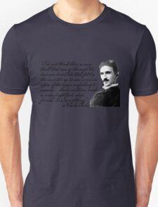 Nikola Tesla on Invention T-Shirt