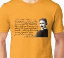 Nikola Tesla on Invention Unisex T-Shirt