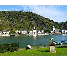 On the Rhein river - Germany  Photographic Print