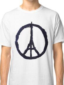 Peace, Pray For Paris Classic T-Shirt