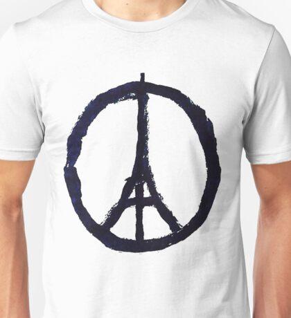 Peace, Pray For Paris Unisex T-Shirt