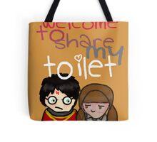 Toilet Tote Bag