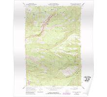USGS Topo Map Washington State WA Foundation Ridge 241192 1967 24000 Poster