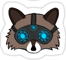 Raccoons Sticker