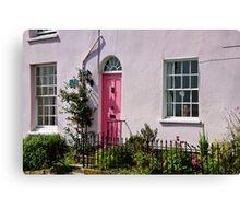 Historic Residence ~ Lyme Regis Canvas Print