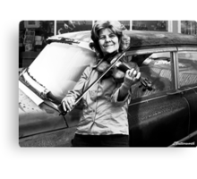 THE FIDDLE PLAYER Canvas Print