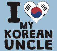 I Heart My Korean Uncle One Piece - Short Sleeve