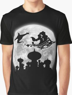 Full Moon over Agrabah Graphic T-Shirt