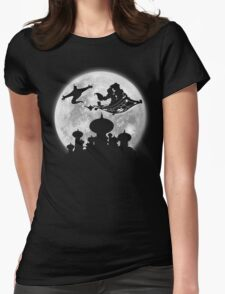 Full Moon over Agrabah Womens Fitted T-Shirt