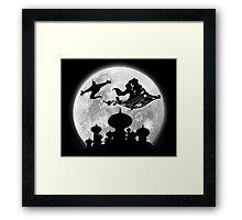 Full Moon over Agrabah Framed Print