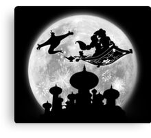 Full Moon over Agrabah Canvas Print