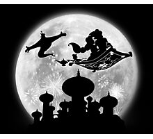 Full Moon over Agrabah Photographic Print