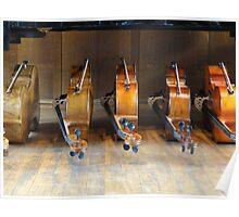 Bank of Cellos Poster
