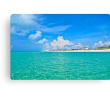 Permanent Vacation Canvas Print