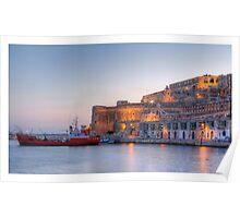 Valletta - Grand Harbour Poster