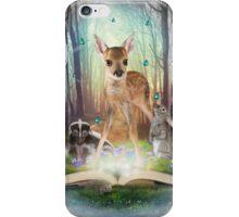 Believe In Magic • (Forest Friends: Bambi / Thumper / Flower) iPhone Case/Skin
