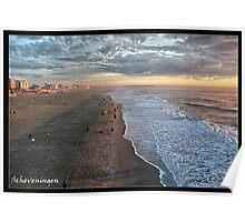 Scheveningen Beach - Sunset Poster