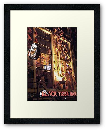 Black Tiger Bar by phil decocco