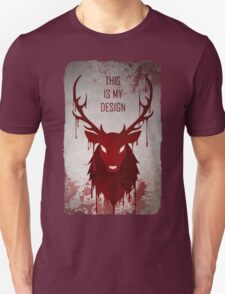 Hannibal: This Is My Design Unisex T-Shirt