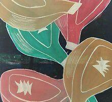 Multicoloured Passionfruit by Stefanie Sharp