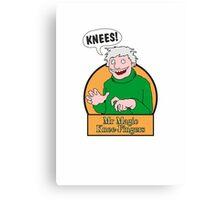 Mr Magic Knee-Fingers! Canvas Print