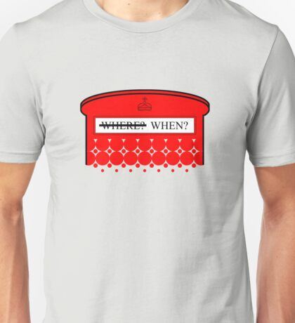 The question isn't where... Unisex T-Shirt