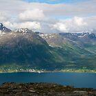 Olderdalen in Kåfjord, Norway by Algot Kristoffer Peterson