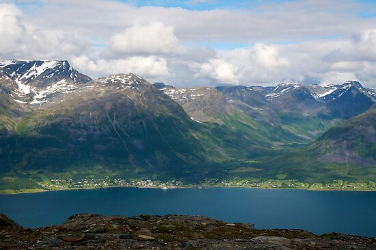 Olderdalen in Kåfjord, Norway by Algot Kristoffer Peterson