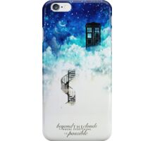 Beyond the clouds iPhone Case/Skin