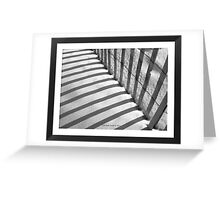 Imprisoned Sands - In Black and White Greeting Card