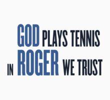 God Roger Federer tribute Kids Clothes