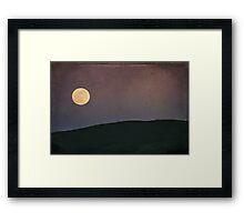 Moonlight Serenade Framed Print