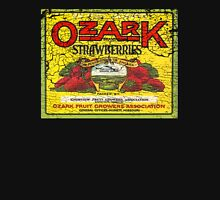 ozark strawberries Womens Fitted T-Shirt