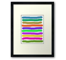 Brush Strokes #2 Veronica Framed Print