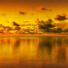 Keys Sunset by Ruberman Rodriguez