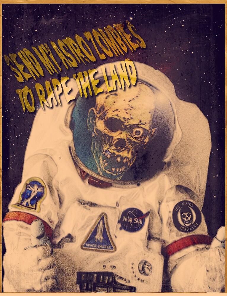 Astro Zombie by JebRand