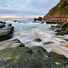 Turmoil - Turrimetta Beach, NSW by Malcolm Katon