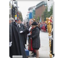 Lord Mountevans, the Rt Hon the Lord Mayor of London iPad Case/Skin